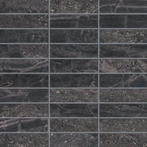 Black Mosaic 1.25×4