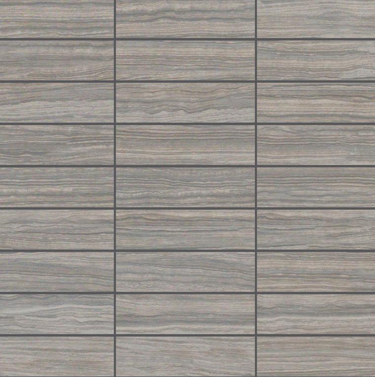 E-Stone Grey Mosaic 1.25×4