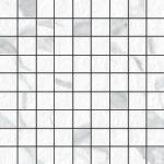 Blast Statuario 1 X 1 Mosaic 12 X 12 Sheet