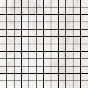 Crystal White Glossy 1 X 1 Mosaic 12 X 12 Sheet