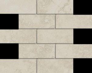 Marmi Navona 2 X 6 Mosaic 12 X 12 Sheet