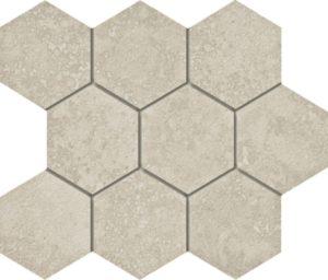 Marmi Navona Hexagon Mosaic 12 X 12 Sheet