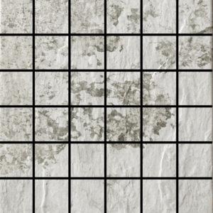 Slate White 2 X 2 Mosaic 12 X 12 Sheet