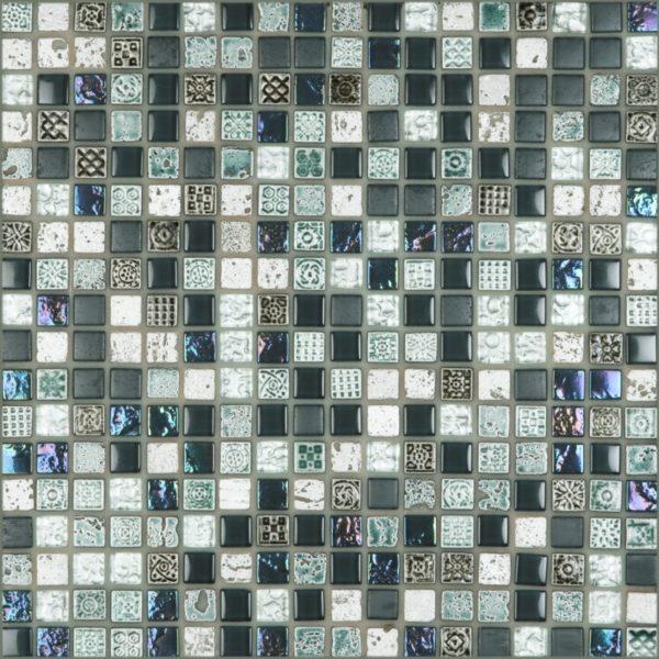 Tangier Oceano 0.6 x 0.6 Mosaic 12 x 12 Sheet