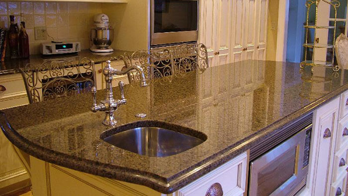 granite kitchen countertop Howell MI