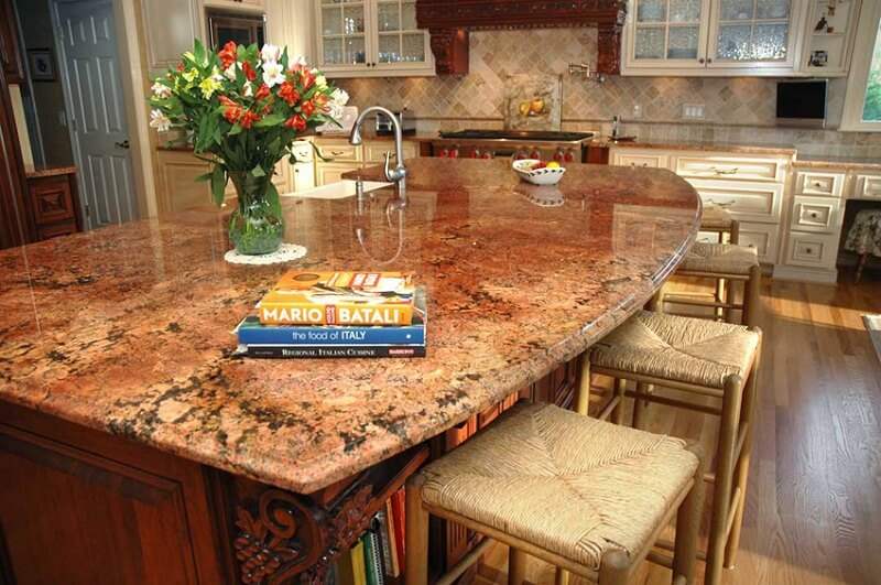 granite kitchen countertop Pinckney MI