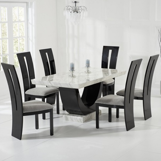 allie_marble_dining_table_black_6ophelia_chairs_set