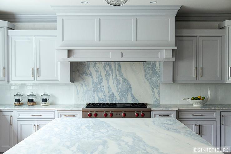 Highend Decor Tips Marble Ann Arbor Stone Tile - Gray kitchen cabinets with marble countertops