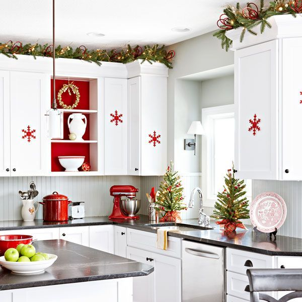 Ideas for a creative Christmas kitchen decor - Ann Arbor Stone & Tile